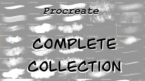 Procreate: Complete Collection & Lifetime Updates