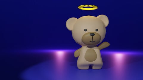 Tedy Bear (Modelling and Texturing)