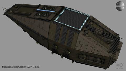 Imperial Escort Carrier KUAT mod