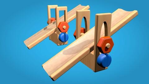 Wooden Swing kids toy