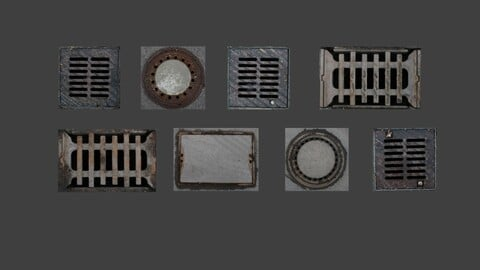 Sewer Texture Package (8 Textures)