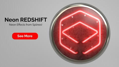 Neon Redshift for Cinema 4D R20 to R22