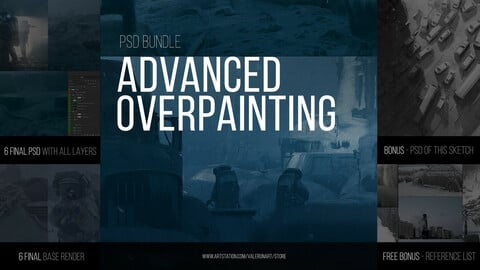 ADVANCED OVERPAINTING - PSD (BUNDLE)