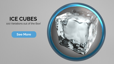 Ice Cubes for Cinema 4D R23
