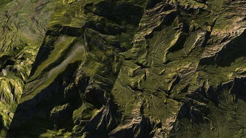 55 Green landscapes | 8K  | 32 bit