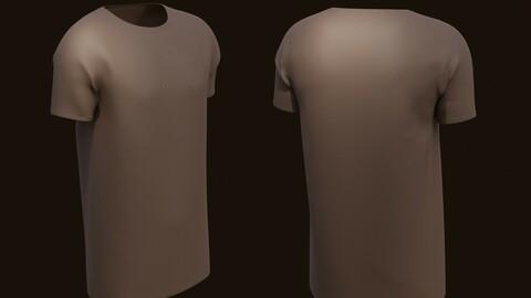 T-shirt - 3D male shirt