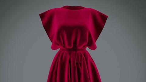 3D Vintage dress - Female outfit
