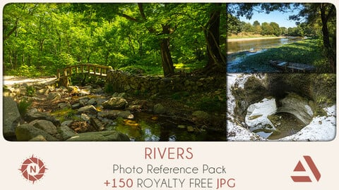 Photo Reference Pack: Rivers