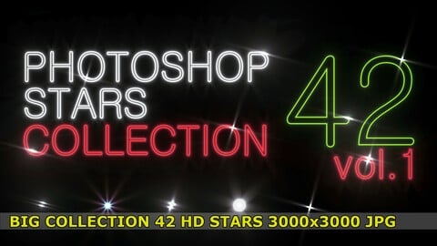 42 Photoshop STARS collection vol.1 for professionals