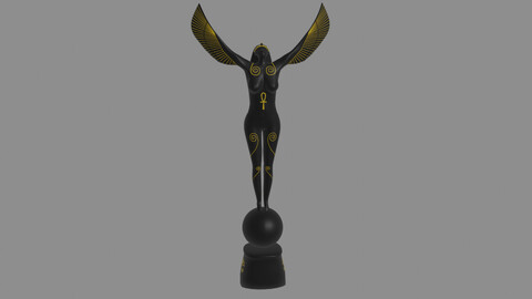 Isis Goddes Sculpture