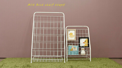 Soap Milk Mini Bookshelf
