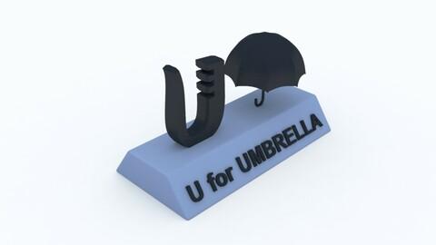 U for Umbrella Model