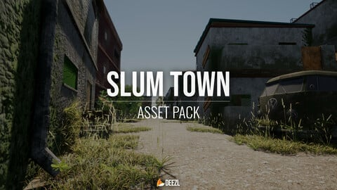SlumTown - Asset Pack