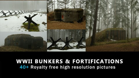 WWII Bunkers & Fortifications