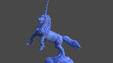 Real Unicorn Sculpture