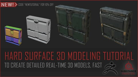 Hard Surface 3D Modeling Tutorial
