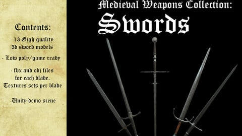Medieval Weapons Collection - Swords