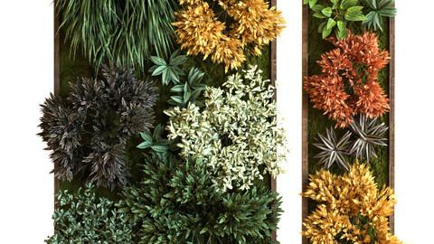 vertical plant set 038