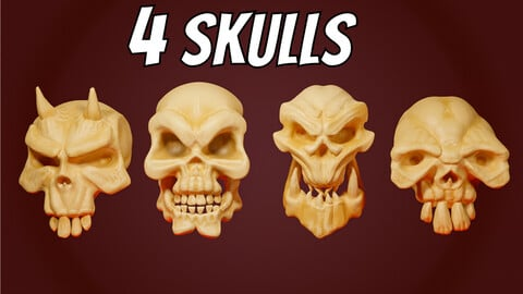 Stylized Skulls Collection