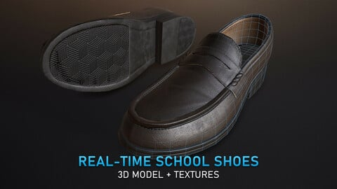 Real-Time School Shoes