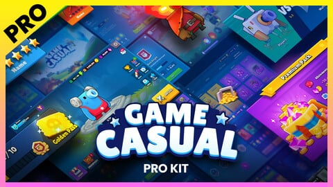GUI Pro Kit - Casual Game