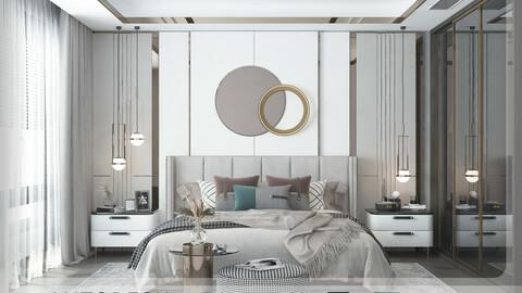 Interior - Modern Bedroom - 602