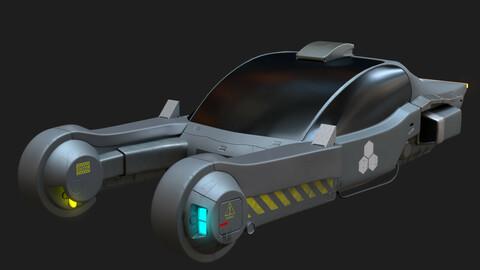 Cyberpunk cars
