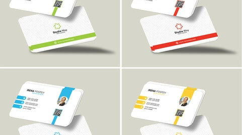 Business Card Template PSD files
