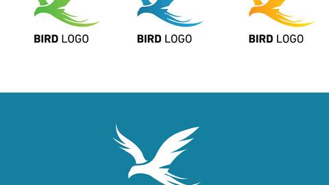 Bird Logo Example Logo Vector