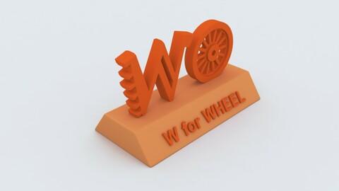 W for Wheel Model