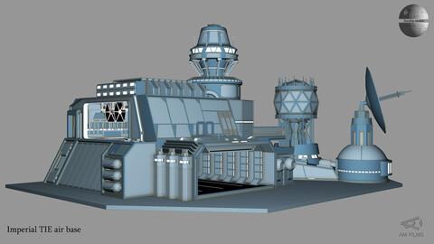 Imperial TIE hangar base