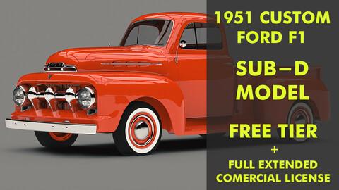 1951 FORD F1 SUB-D MODEL