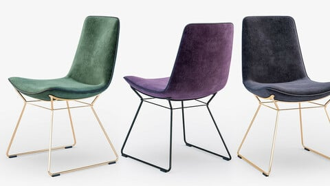 chair colecction 2- 3d