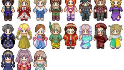 Varius character RPG MAKER MV MZ