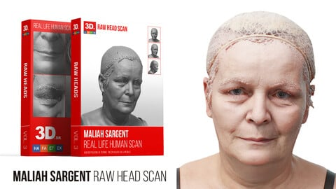 Maliah Sargent Raw 3D Head Scan