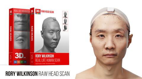 Rory Wilkinson Raw 3D Head Scan