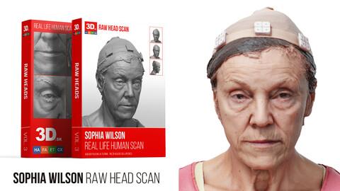Sophia Wilson Raw 3D Head Scan