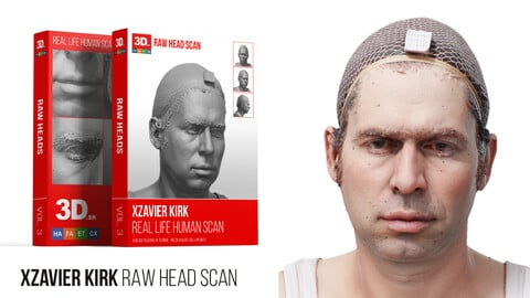 Xzavier Kirk Raw 3D Head Scan