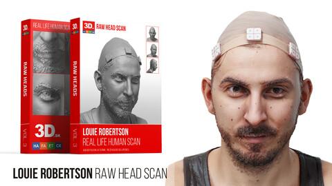 Louie Robertson Raw 3D Head Scan