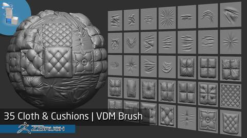 35 Cloth & Cushions VDM Brush