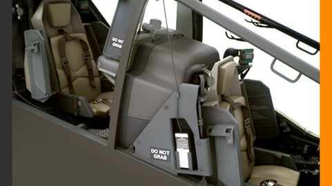 Boeing AH-64D Apache Longbow Attack Helicopter Cockpit