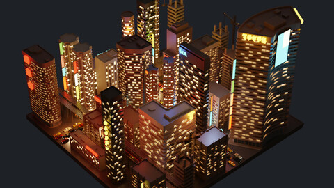 City Lowpoly