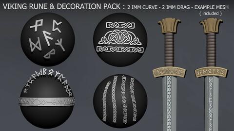 IMM Viking Rune & Decoration