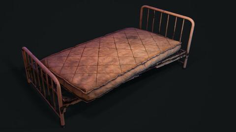 Old Bed - PBR Model