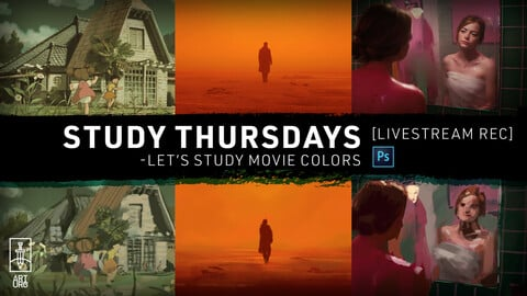 FEB-25 LiveStream: Let's Study Movie Colors - with art.uro