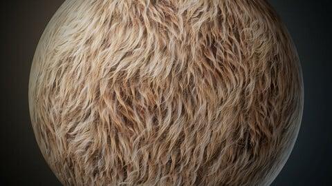Smart Fur Material