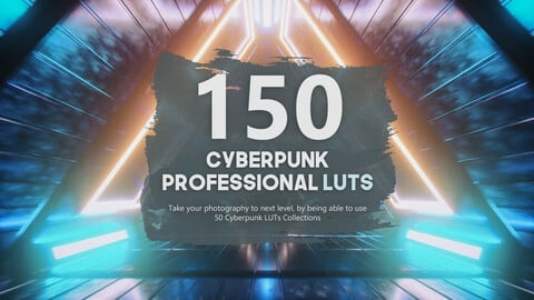 150 Cyberpunk Unreal LUTs Pack