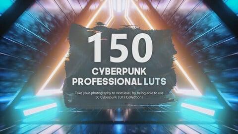 150 Cyberpunk Unreal LUTs Pack