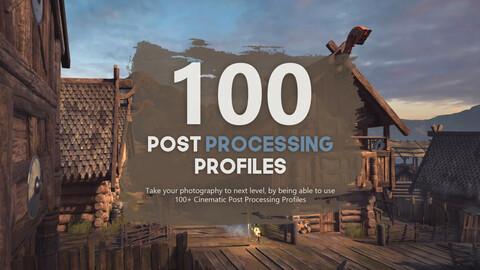 100+ Cinematic Unity Post Processing Profiles