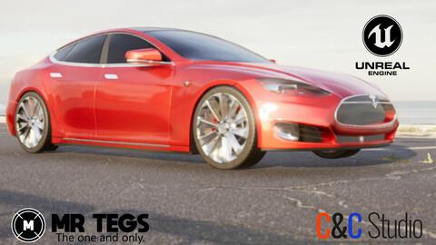 Tesla Model S for Unreal Engine